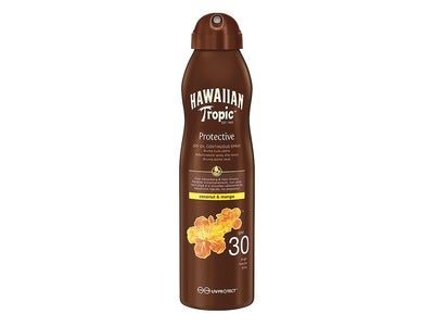 Hawaiian Tropic Dry Oil Continuous Spray SPF 30
