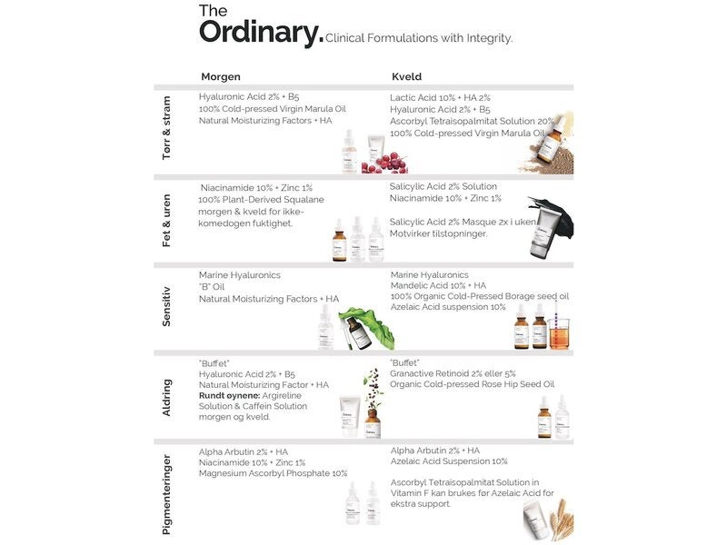 "The Ordinary The Ordinary ""Buffet"" + Copper Peptides 1%"