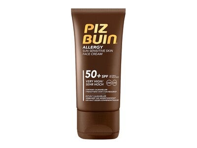 Piz Buin Allergy Sun Sensitive Face Cream SPF 50