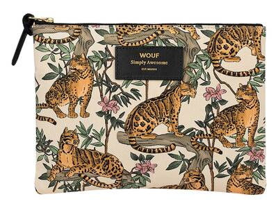 WOUF Lazy Jungle Large Pouch