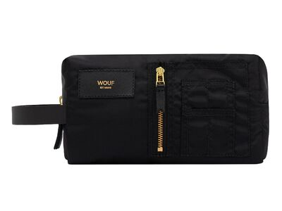 WOUF Black Bomber Travel Case