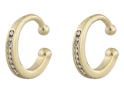 Snö Later small cuff ear gold/clear