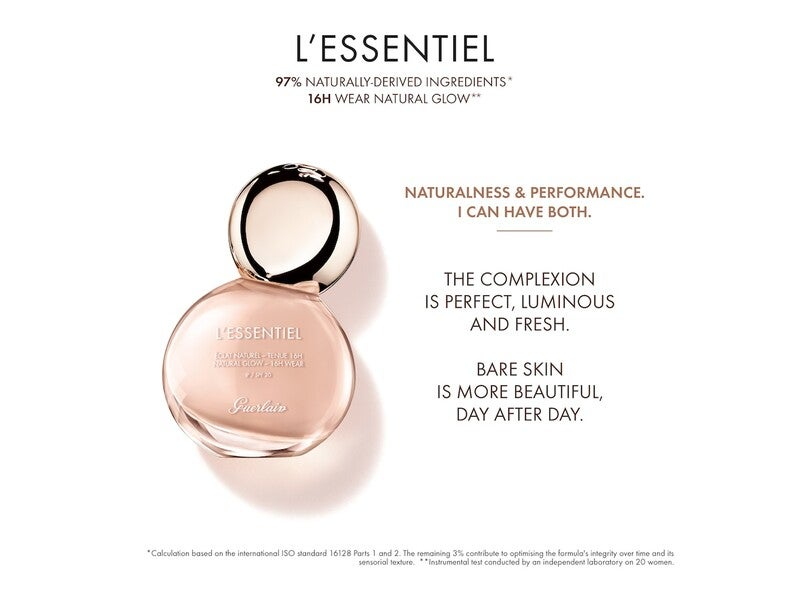 Guerlain Guerlain L'Essentiel Natural Glow Foundation 16h wear - SPF 20